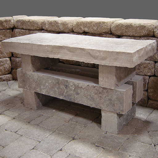 Natural Stone Bench