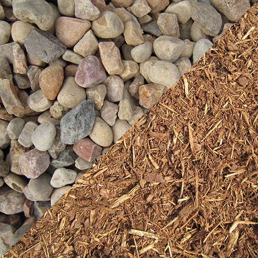 Decorative Stone and Mulch